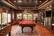 Game Room - Traditional Stands the Test of Time / Time for some old world charm in your home with these timely pieces! #traditionalgameroom