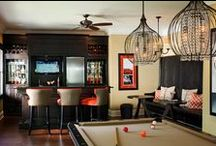 Game Room - Eclectic and Loving It! / Have a space in your home that is eclectic done right! #dannyveghs #designstyle