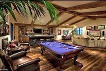 Billiard Rooms / Now's your 'cue' to get going on creating an incredible #billiards room for your home!