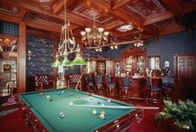 Billiards - Antique and Vintage / Nothing shows class like #antique products in your home!