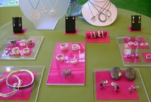 .≈Ideas for Display≈. / Good ideas for craft booth layouts and jewelry displays. / by Kate Richbourg