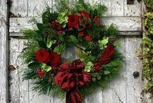 Holiday Decorations / Holiday and Christmas decorations inspired by nature