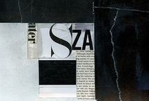 Collages + Montages / Collages, montages, and assemblages