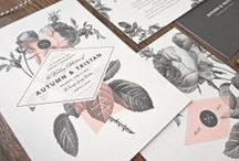 SOOTI \\ WEDDING INVITATIONS \\ / A COMPILATION OF INVITATIONS AND STATIONERY WE LOVE