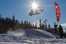 Terrain Parks / Whistler Blackcomb's terrain parks boast 5 parks, 2 halfpipes, several hundred features and tons of great events for groms and adults.