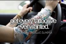 Bucket List / things i would love to do before i leave this earth.