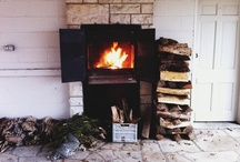 Fireplace + Mantle + Hearth / Home decor and design ideas for fireplaces, mantles, and hearths.