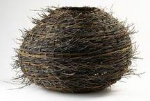 Baskets + Bird's Nests / Beautiful baskets and bird's nests