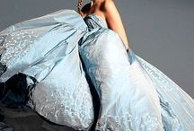 gown / sumptuous gowns; evening, wedding, couture  / by Elizabeth Simenstad