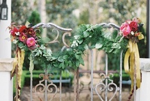 Garlands and wreaths / Garlands, crowns, wreaths : floral and other natural focal indicators.  / by Kate Halcrow