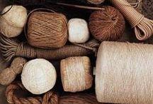 Jute, String, Twine + Rope / Hemp, jute, rope, string and twine