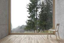 Custom House / Indoor/outdoor design for a custom-built house.