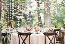 Déco mariage // Wedding decor / Pour un mariage au top, voici nos inspirations. Déco de table, DIY, le plus beau jour de votre vie sera résolument déco !
