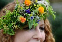 flower head bands
