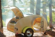 camp / trailers, tents, outdoors / by Elizabeth Simenstad