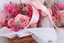 Red n Pink pt.2 ~ Flowers & Co. / Red and Pink looks lovely together, don't you think? <3