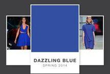 Dazzling blue - il colore del 2014 / Tutte le proposte per un 2014 alla moda: il colore della primavera sarà il Dazzling blue.