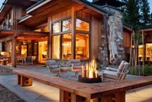 Cabin Fever / Ideas for cabins / by Lisa Kamolnick