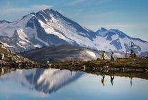 #360OfWB - The Summer Experience / Ancient peaks, glassy lakes and wild alpine sunsets the alpine is so much more than a gondola ride, it's a full experience including wild flowers, panoramic views, snow walls, a variety of hikes and wildlife.