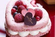 Red n Pink pt.1c ~ Macarons / macarons