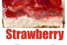 Recipes - STRAWBERRY SENSATIONS / Delicious Strawberry Recipes! YUM!