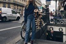 Denim Looks / Denim is a wardrobe staple. A collection of denim looks I love.
