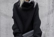 Just Jumpers / The chunky knit is something that will never go out of fashion. Here is a collection of outfits with jumpers.