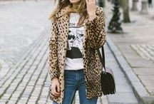 A Leopard Never Changes It's Spots / Leopard print is timeless. Here are some chic ways to wear leopard print.