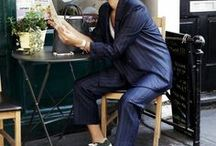 Suits You / The suit is a great alternative to the dress. Androgynous fashion is in right now!