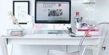 The Desk / Looking for somewhere inspiring to work? I've collected lots of amazing desk spaces to give you some ideas.