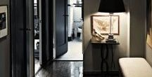The Hallway / I love a statement hallway - here are a collection of ideas!