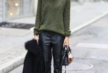 Leather Trousers - not for Ross / Leather trousers are a great addition to any wardrobe. Dress them up or down!