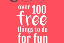 Fun Cheap Things to do / Things to do without breaking the bank! If you would like to be apart of this group board, follow and message me on Pinterest  Cheap things to do | things to do for free | with friends | on the weekend | summer | winter | date | cheap | on a budget | frugal | Road trips | vacation | Free stuff