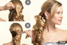 Hairstyles to try / by Heather Harrison