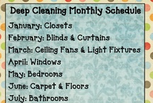 Hints & Tips - Cleaning / by Donna Lock