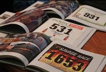 Race Bibs & Medal Ideas / Ideas for your old race bibs, tee's and medals.