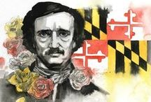 Maryland Authors / Famous Authors who were born, lived, or died in the state of Maryland.