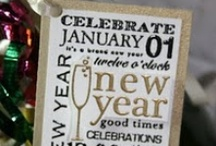 Holidays New Years Eve {Crafts,DIY,Decorations} / by Vickie Brantley