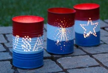 Holidays July 4th {Crafts,DIY,Decorations} / by Vickie Brantley