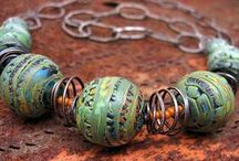 Handcrafted Jewelry and Art / Here is a selection of amazing art made by friends and those I admire. :-)