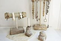 Jewelry Displays + Storage / Jewelry display, storage ideas and inspiration / by Cindy Wimmer
