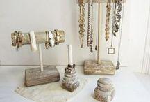 Jewelry Displays + Storage / Jewelry display, storage ideas and inspiration