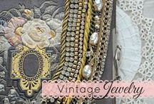 Vintage Jewelry / Vintage and antique jewelry + modern jewelry made with vintage components.