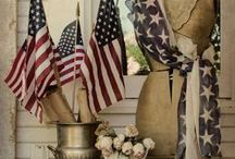 Americana / Beautiful displays of patriotism / by Cindy Wimmer