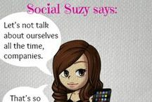 Social Suzy  / Social Suzy says: tips and tricks for social media and online marketing