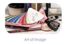 Make-up Art of Image / Prachtige make-up producten van Art of Image, afgestemd op de kleuren van de verschillende seizoenstypes. Verkrijgbaar in de webshop http://www.biancasfinishingtouch.nl