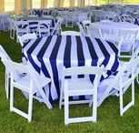 Red, White & Blue   Festivities Designs / Traditional and non-traditional event decor involving red, white, and blue!