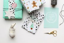 Wrapping and swapping / Gift wrapping ideas and swap inspiration