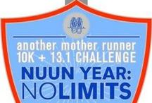 AMR NUUN YEAR: NO LIMITS / Join us for community, accountability, training plans, sweet finisher's packages and swag! / by Another Mother Runner