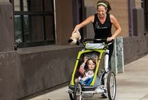 Stroller Running / Tips and tricks to keep you moving with your mini-cheer squad.